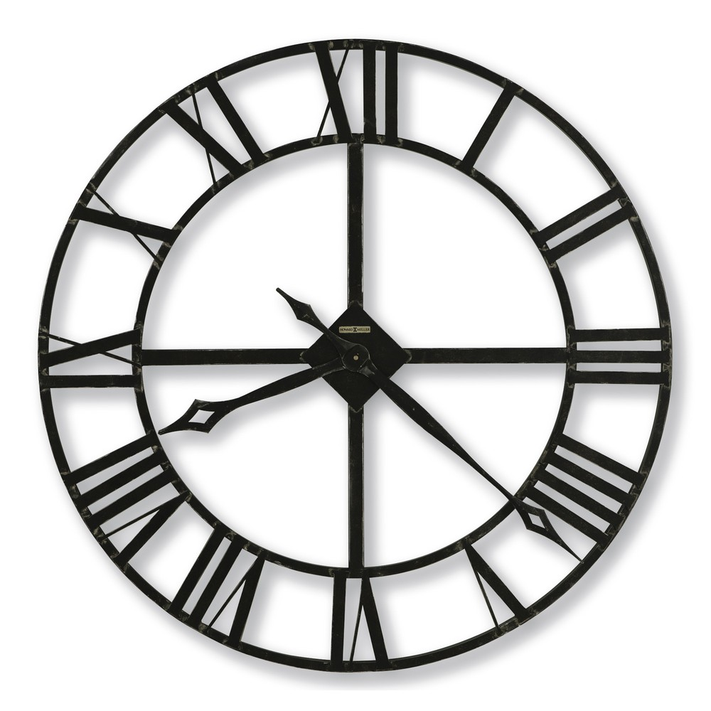 Howard Miller Lacy 32 Quot Wrought Iron Wall Clock 625372