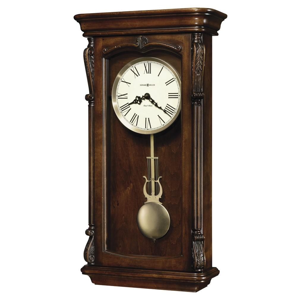 Howard Miller Henderson Dual Chime Pendulum Wall Clock 625378