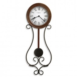 Howard Miller Yvonne Wrought Iron Wall Clock 625-400