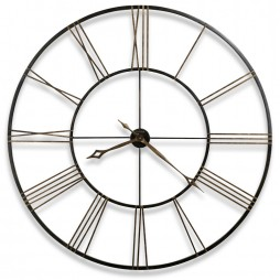"Howard Miller Postema 49"" Wrought-Iron Wall Clock 625-406"