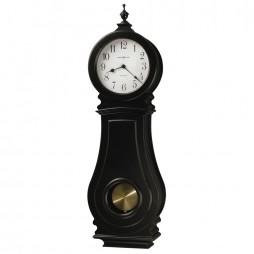 Howard Miller Dorchester Worn Black Wall Clock 625-410