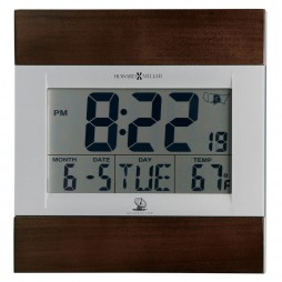 Howard Miller Techtime III- Radio Controlled Clock 625-429