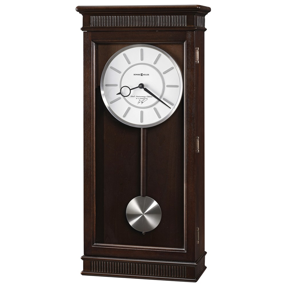 Contemporary Chiming Wall Clock Howard Miller Kristyn