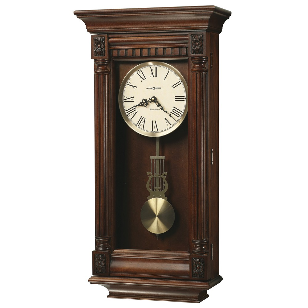 Chiming Wall Clock Howard Miller Lewisburg 625 474