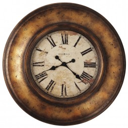 "Howard Miller Copper Bay 29-1/2""  Wall Clock 625-540"
