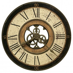 "Howard Miller Brass Works 32""  Wall Clock 625-542"