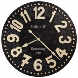 Howard Miller Fulton Street Wall Clock 625557 625-557