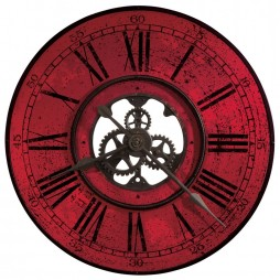 Howard Miller Brassworks II Wall Clock 625569 625-569