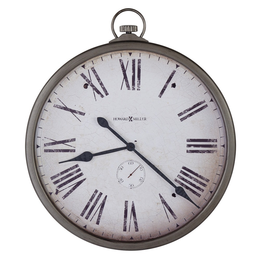pocket watch wall clock howard miller gallery pocket mechanical wall clock 29539