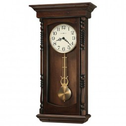Howard Miller Kipling Triple-Chime Pendulum Wall Clock 625-576