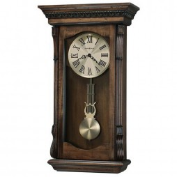 Howard Miller Agatha Triple-Chime Pendulum Wall Clock - Open Box 625-578