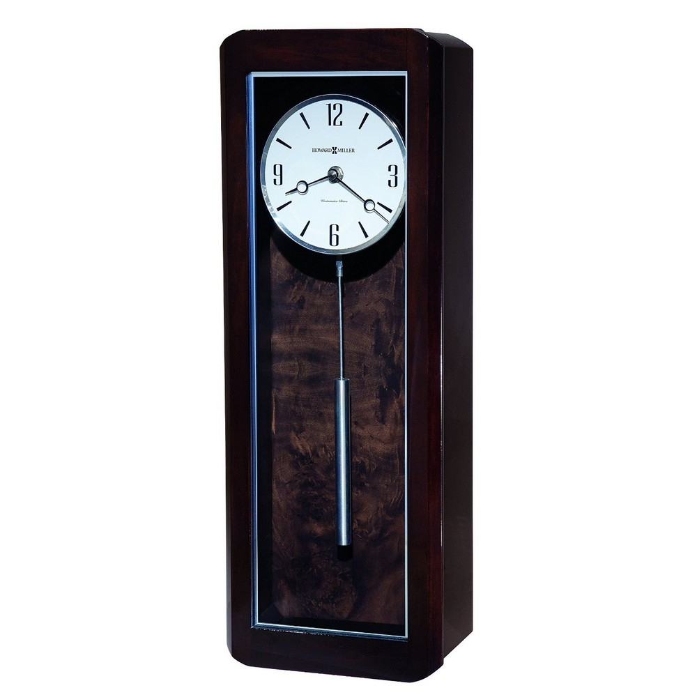 wall clocks modern howard miller aaron contemporary wall clock 625583 29382