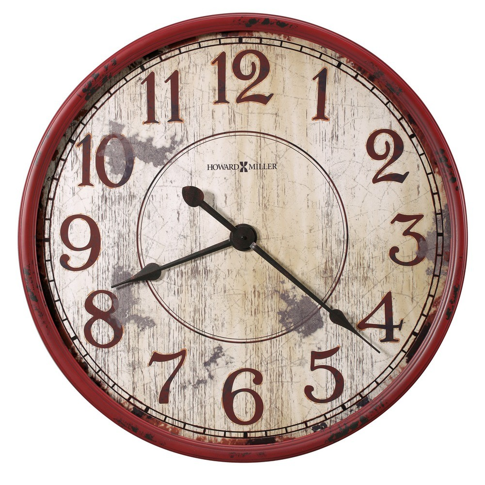 Howard Miller Back 40 Mechanical Wall Clock 625598