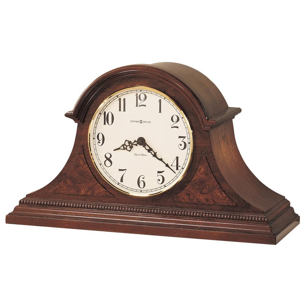 Howard Miller Tambour Mantel Clock Fleetwood 630122