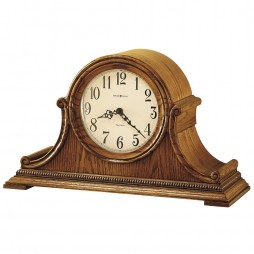 Howard Miller Hillsborough Oak Dual Chime Mantel Clock 630-152