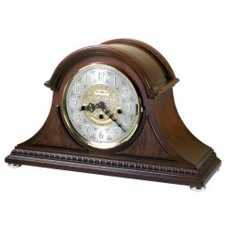 Howard Miller Barrett Key Wound Mantel Clock with Keywound