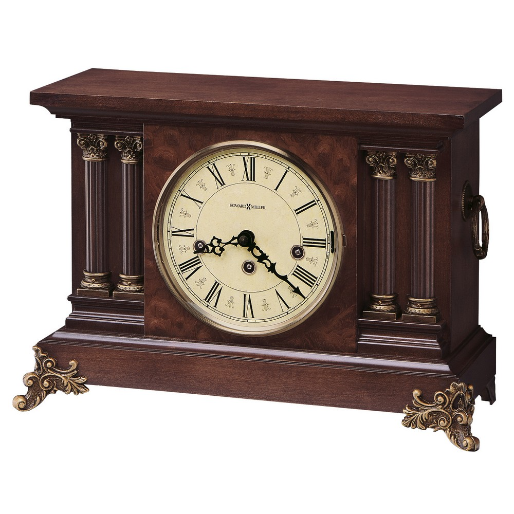 Howard Miller Circa Antique Styled Mantel Clock 630212