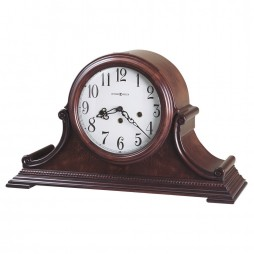 Howard Miller Palmer Tambour-Style Mantel Clock (Key-Wound) 630-220
