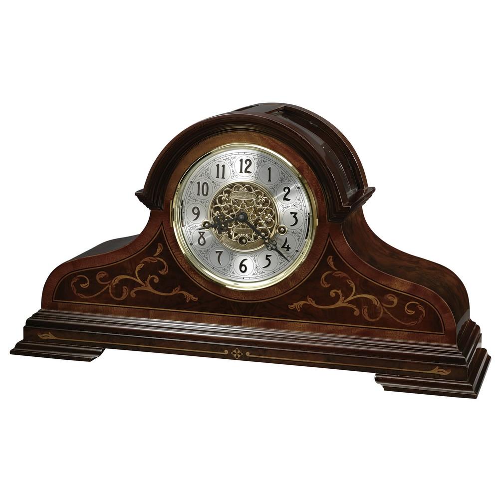 Bradley Key Wound Mantel Clock With Keywound Triple Chime