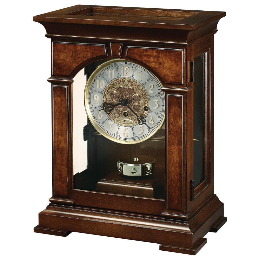 Howard Miller Emporia Mechanical Mantel Clock 630266