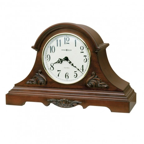 Howard Miller Sheldon Dual Chime Tambour Mantel Clock 635-127
