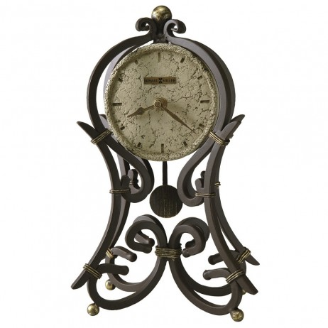 Howard Miller Vercelli Wrought Iron Mantel Clock 635 141