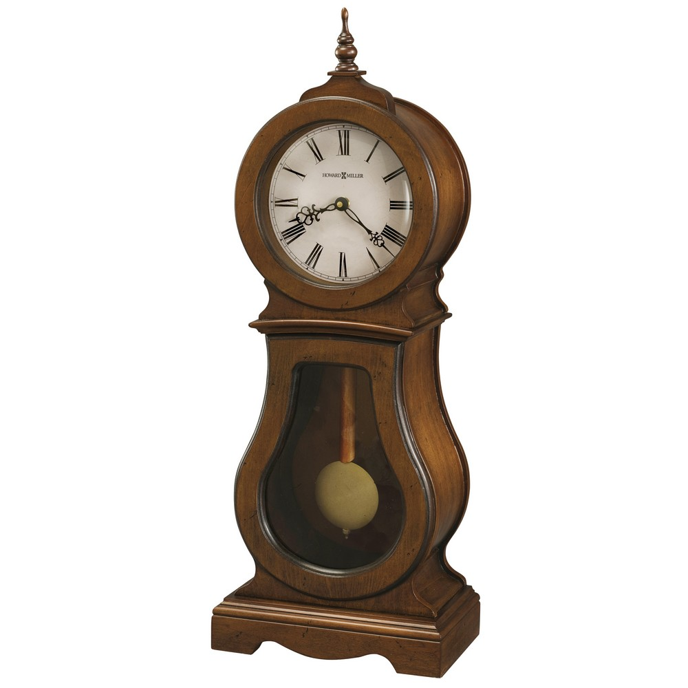 Cleo Pendulum Mantel Clock Howard Miller 635 162