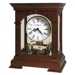 Howard Miller Statesboro Mantel Clock with Revolving Pendulum 635-167
