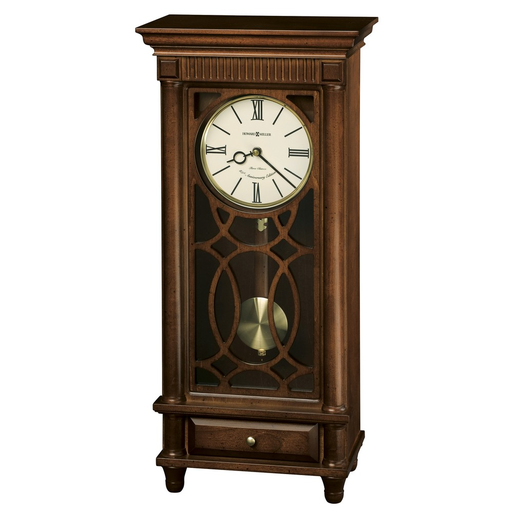 Howard Miller Lorna Triple Chime Harmonic Sofa Table Clock
