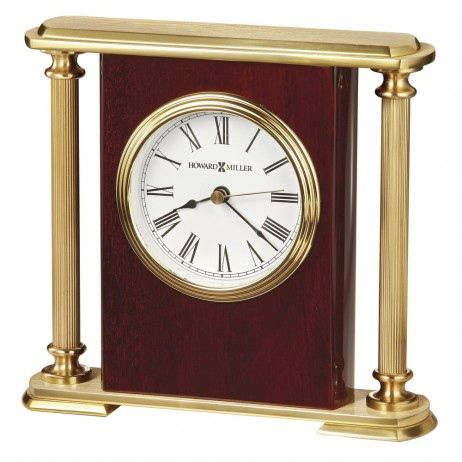 Howard Miller Rosewood Encore Bracket Table Clock 645 104