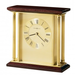 Howard Miller Carlton Brass Table Clock 645-391