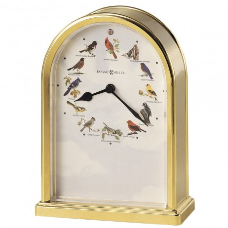 Howard Miller Songbirds III Table Clock 645-405