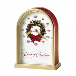 Howard Miller Carols of Christmas II Musical Table Clock 645-424