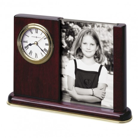 Howard Miller Portrait Caddy Desk Or Table Clock 645-498