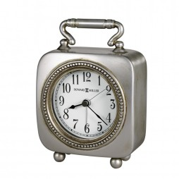 Howard Miller Kegan Antique Pewter Alarm 645-615