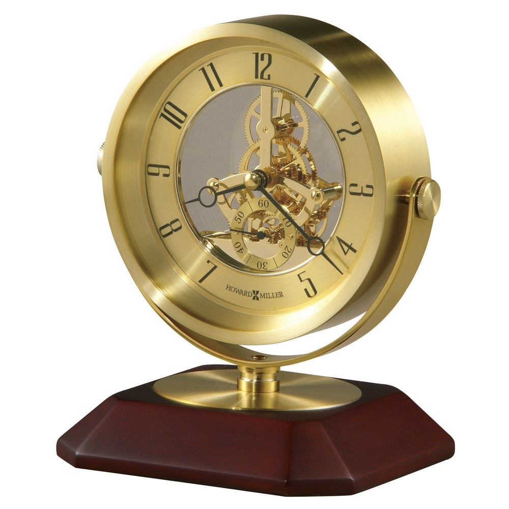 Howard Miller Soloman Table Clock With Skeleton Movement  : HM 645674 from clockshops.com size 1000 x 1000 jpeg 125kB