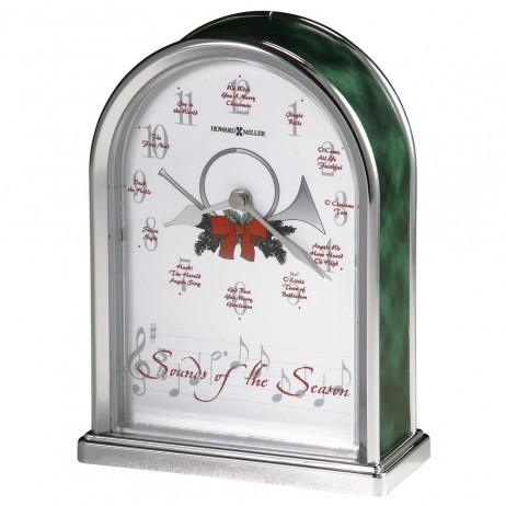 Howard Miller Sounds of Season Christmas Clock 645-687