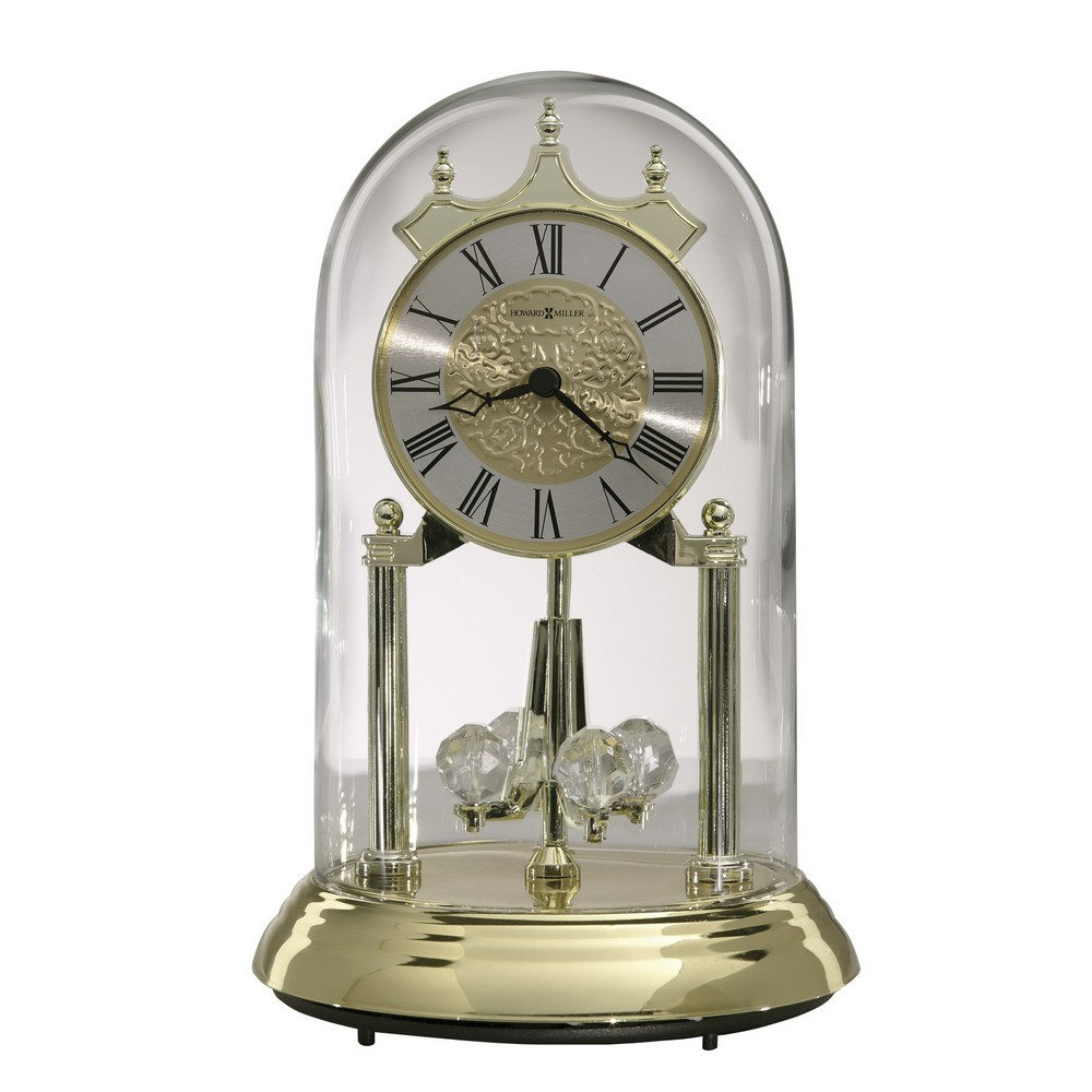 Anniversary Clock | Howard Miller Christine Gold 645 690 | ClockShops.com