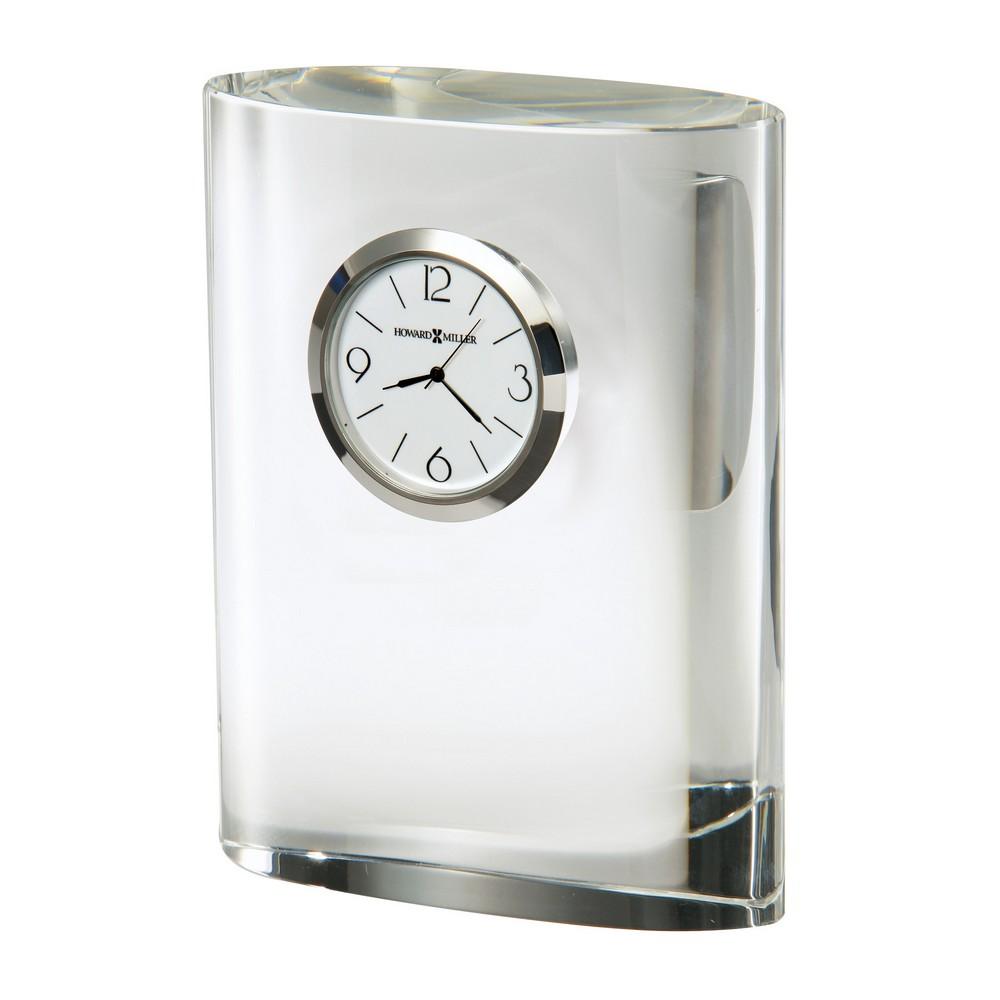 Howard Miller Fresno Oval Crystal Table Clock 645718