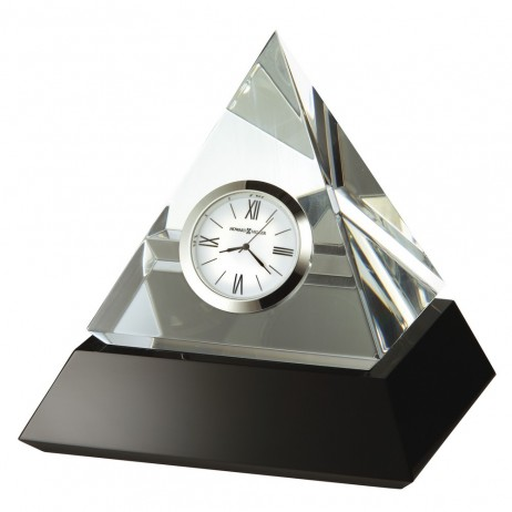 Howard Miller Summit Crystal Pyramid Table Clock 645-721
