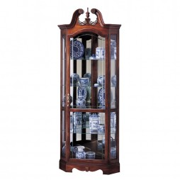 Howard Miller Berkshire Corner Display Cabinet 680-205