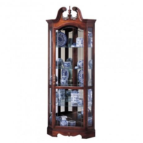 Howard Miller Berkshire Corner Display Cabinet 680-205