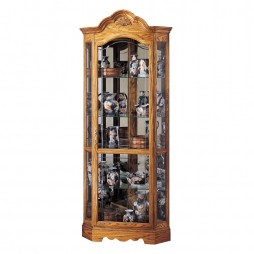 Howard Miller Wilshire Corner Display Cabinet 680-207