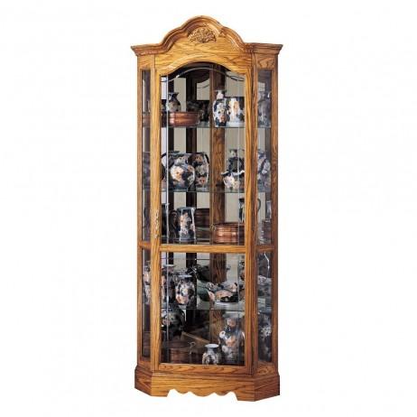 Howard Miller Wilshire Corner Display Cabinet 680-207