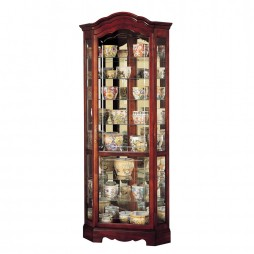 Howard Miller Jamestown Corner Display Cabinet 680-249