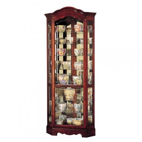 Howard Miller Jamestown Corner Display Cabinet 680-249