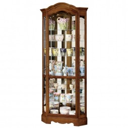 Howard Miller Jamestown II Corner Display Cabinet 680-250