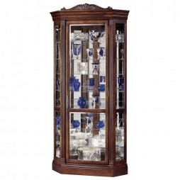 Howard Miller Embassy II Corner Display Cabinet 680-290