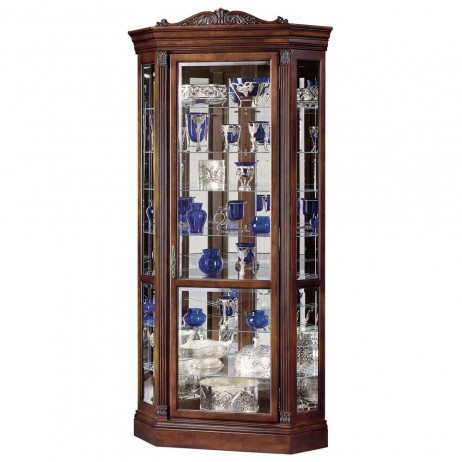 Howard Miller Embassy II Corner Display Cabinet 680-290