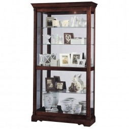 Howard Miller Dublin Traditional Collectors Cabinet 680-337